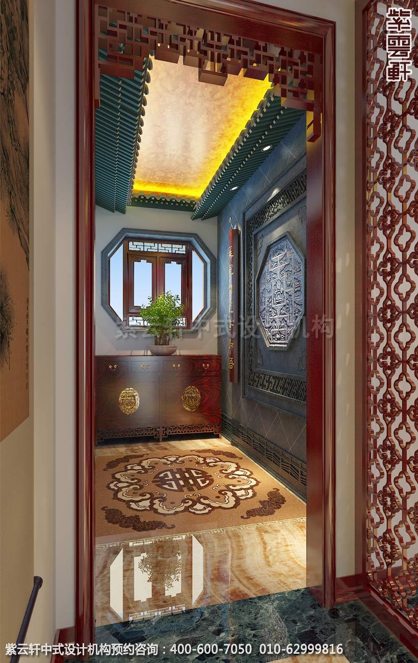 玄关门厅中式装修效果图