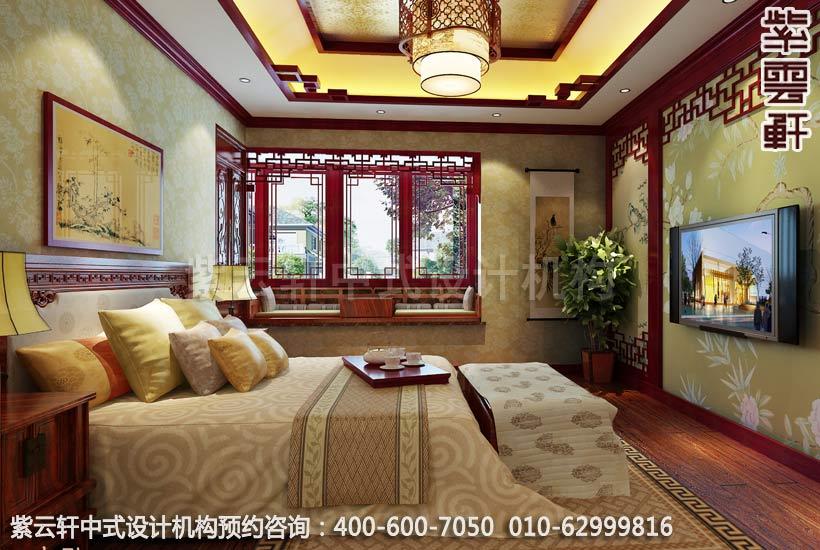 精品住宅卧室简约中式装修效果图
