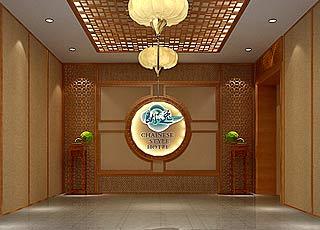 常州主题酒店中式装修案例靓图震撼来袭—清雅江南风