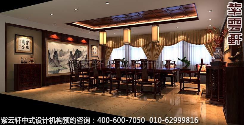 红木家具展厅特殊展厅古典中式装修效果图