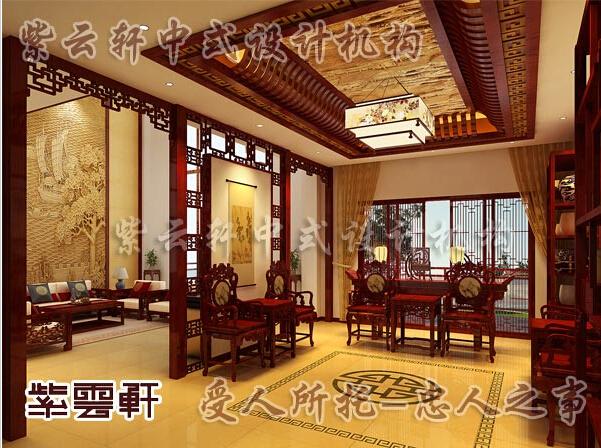别墅中式装修巧妙设计体现古典风格的美韵