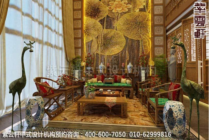 别墅选择新中式装修设计呈现宫殿般的豪华