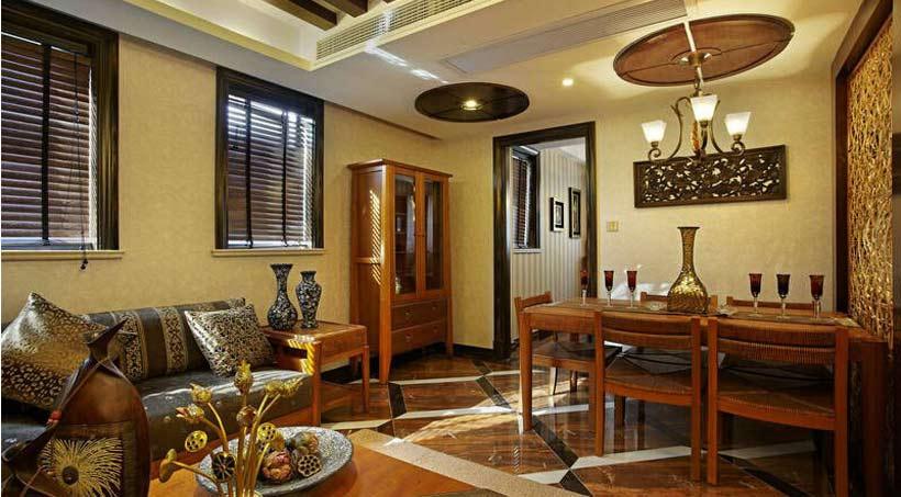 新中式家具的设计更为简约时尚