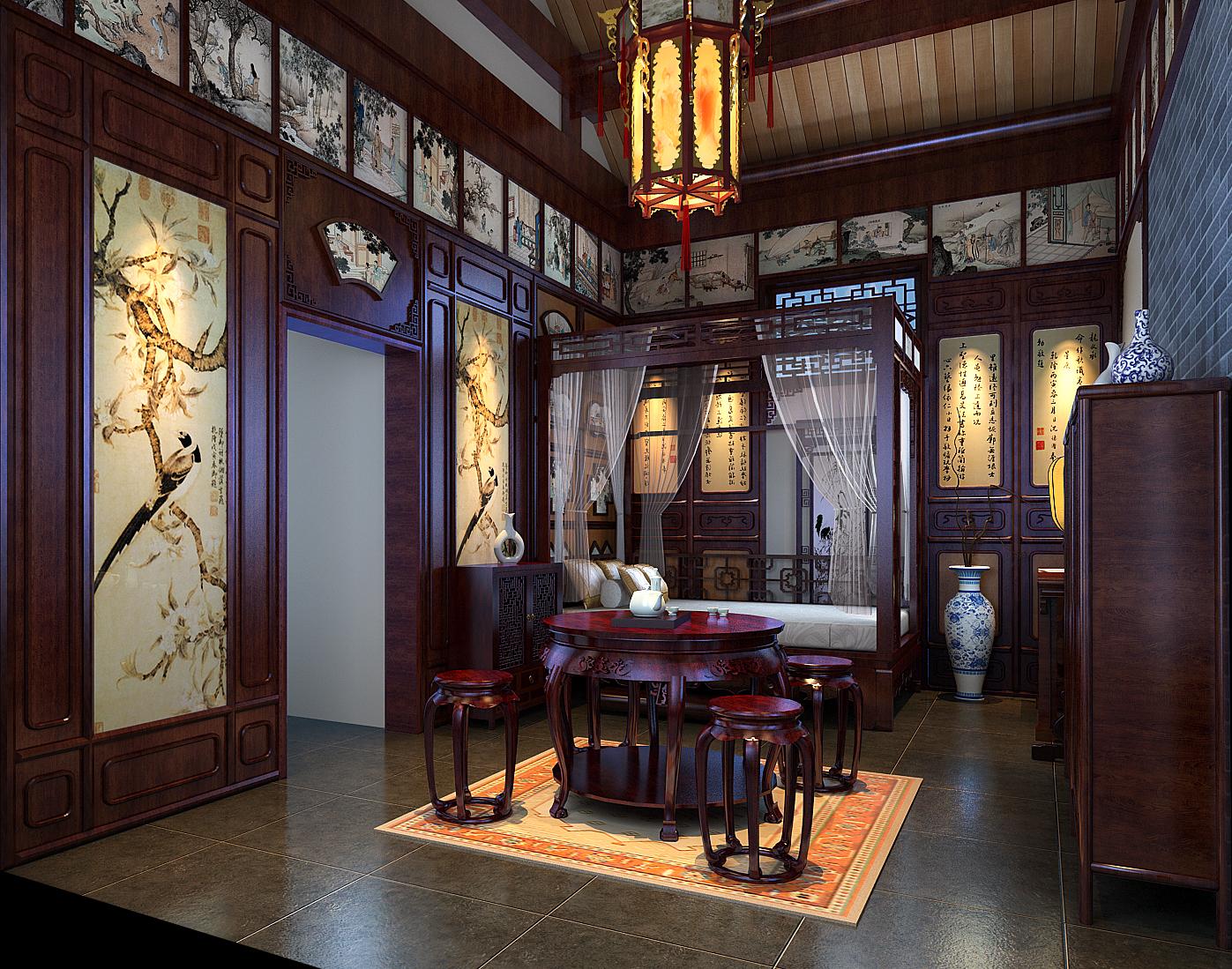 中式装修-红木家具