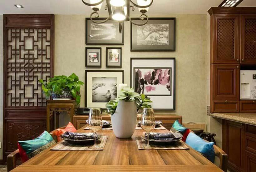 分析中式装修中秋季家装最流行的装饰风格