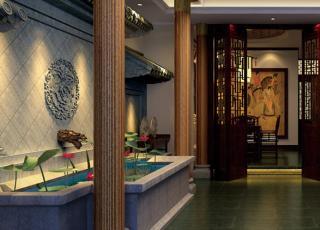 中式休闲会所设计装修 享受一个人的私密殿堂