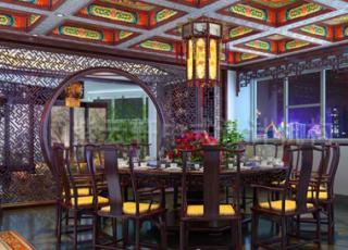 中式古典会所设计案例--享受生活的安静闲适