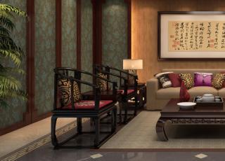 中式风格复式住宅设计--重庆周先生居所 含蓄内敛的中式精神