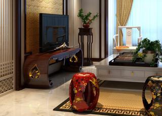 新中式风格别墅设计案例效果图--传统与时尚的结合
