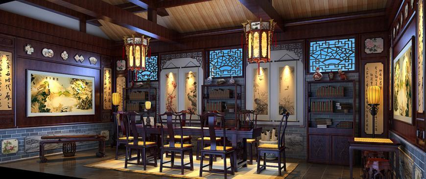 中式精品居家四合院设计--气质优雅,彰显格调