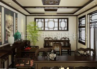 中式风格让一切都那么自然—亦庄古典中式别墅