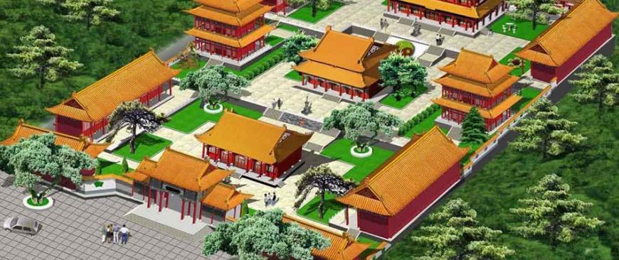寺庙建筑的起源与知名圣地