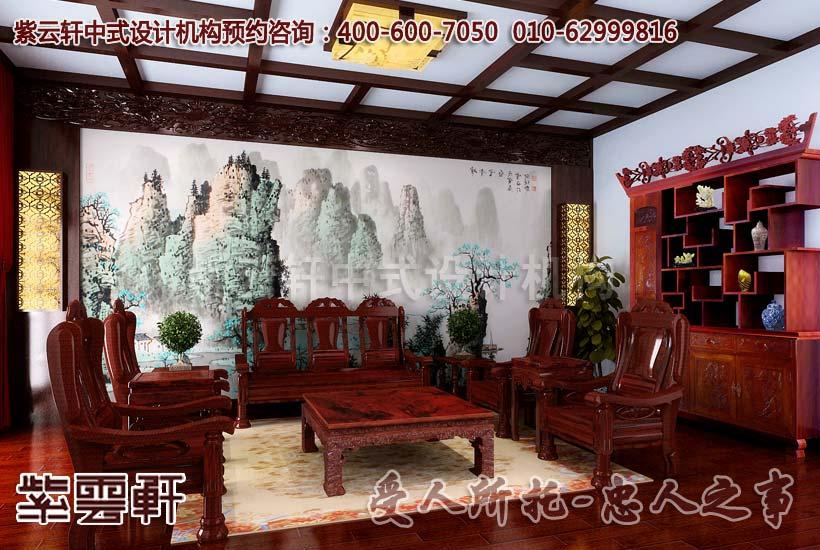 现代中式装修红木家具的干燥处理的重要性高清图片