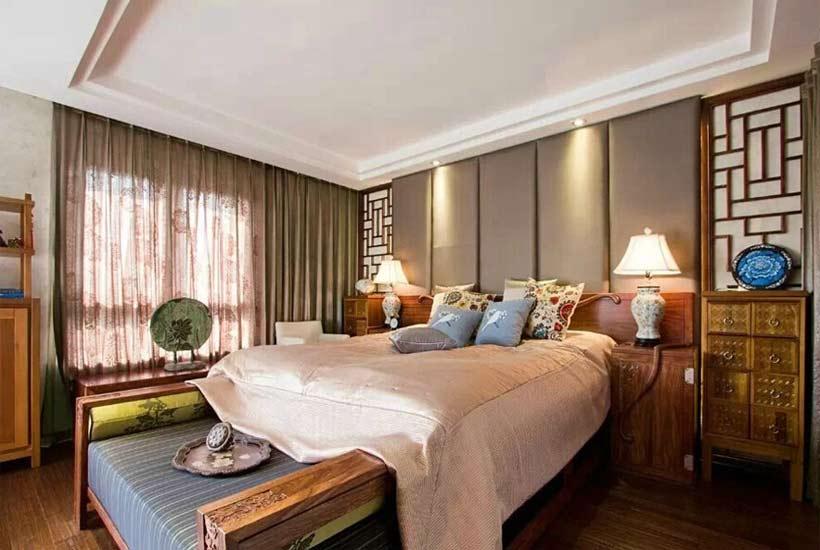 平层中式装修设计如何让小卧室空间更宽敞