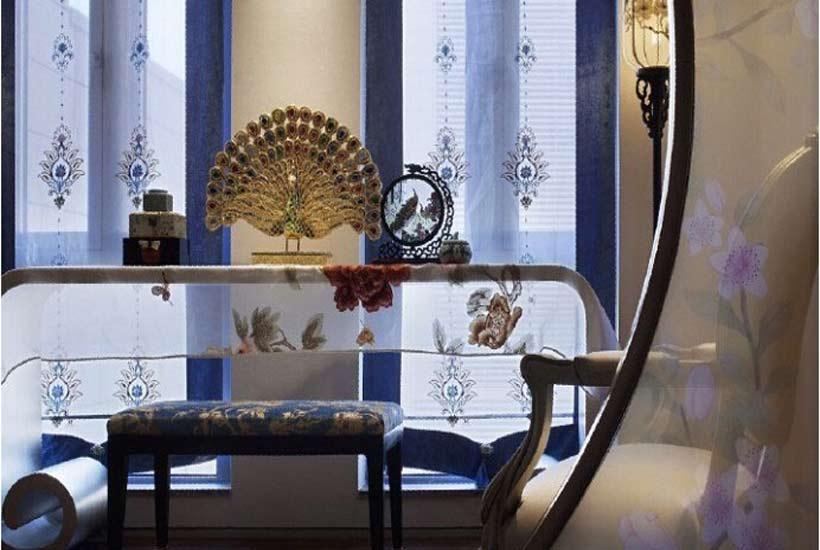 设计师用三招让别墅客厅中式装修更加出彩