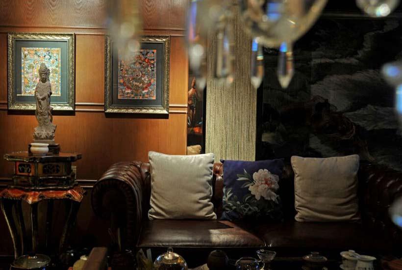 简述现代居室现代中式个性装修的风格特点