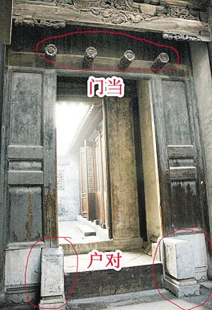 探究门当与户对在传统古建筑中的具体含义