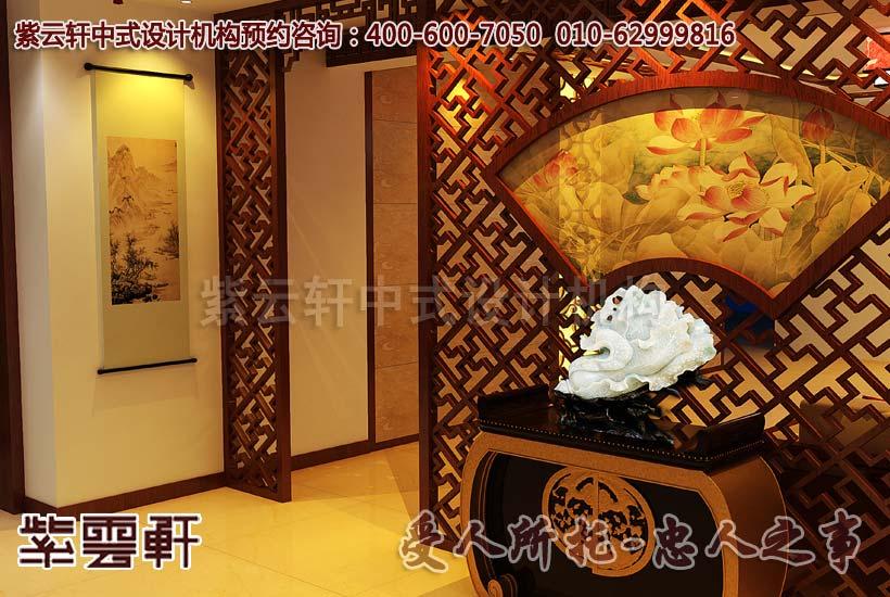 中式装修家居需持一份水墨画的莲花之情