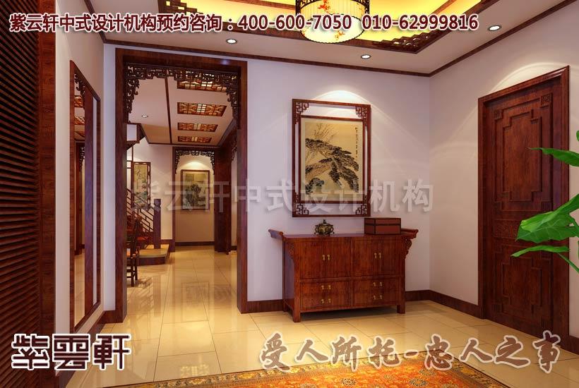 中式家居在选择木门时要与整个环境保持一致