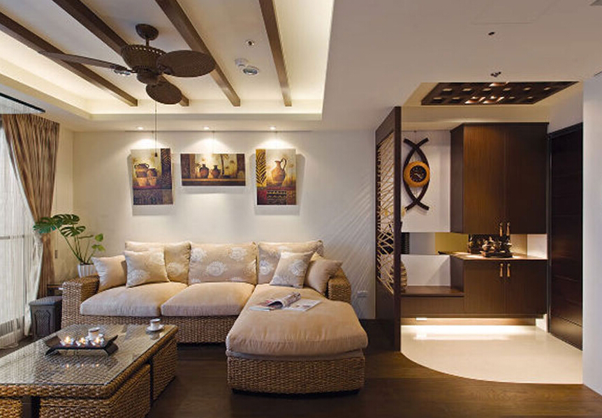 别墅中式装修设计中的飘窗功能的扩大技巧