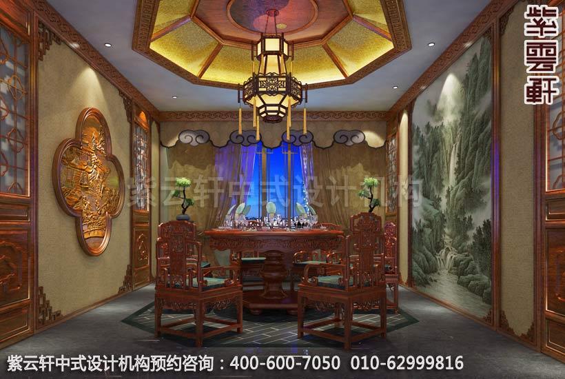 私人会所餐厅古典中式装修效果图
