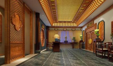 扬州尤先生私人会所古典中式装修精美大图—美轮美奂宫廷生活