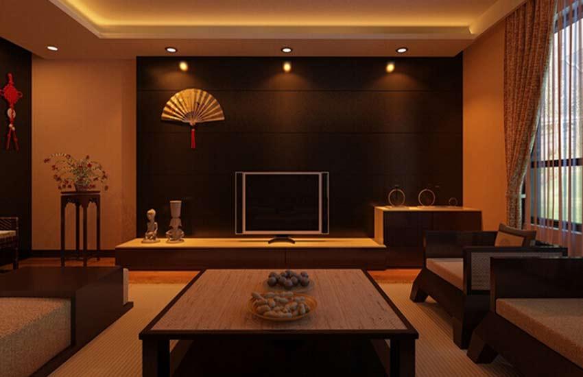自家的客厅中式设计不同于酒店装修和会所设计