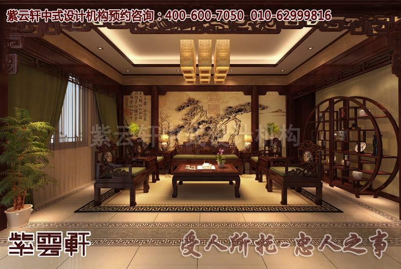 精心设计现代中式风格家居中的每一个空间