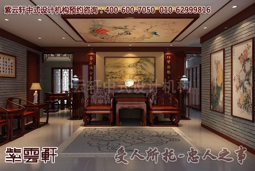 中国的传统风水学中设置客厅玄关的注意事项