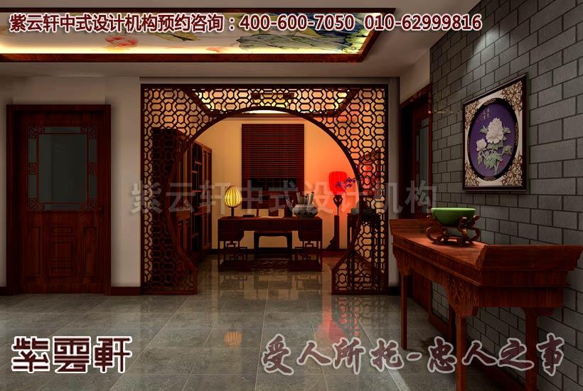 以中式书房的细节之处体现设计的独具匠心图片