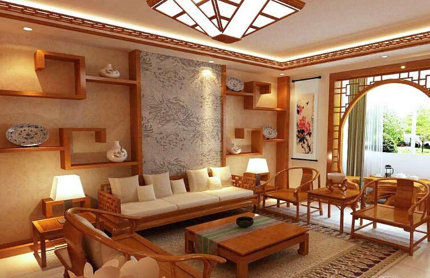 掌握客厅墙面中式装修技巧打造完美会客空间