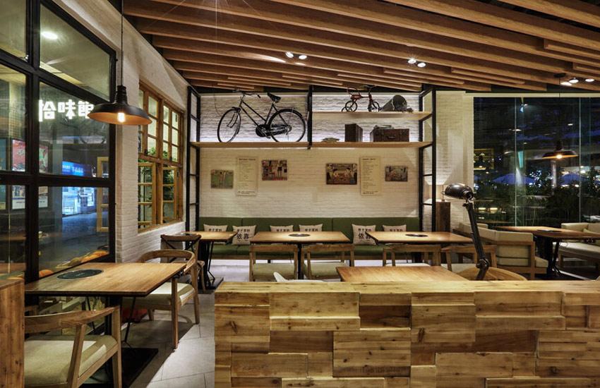 简述餐饮店面选择中式装修设计的重点有哪些图片