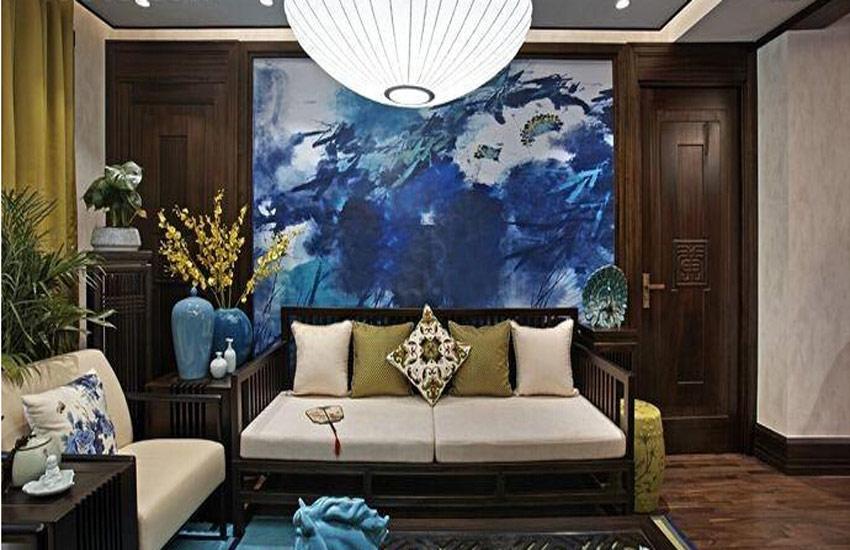 独立别墅选择中式装修设计前需进行风格定位
