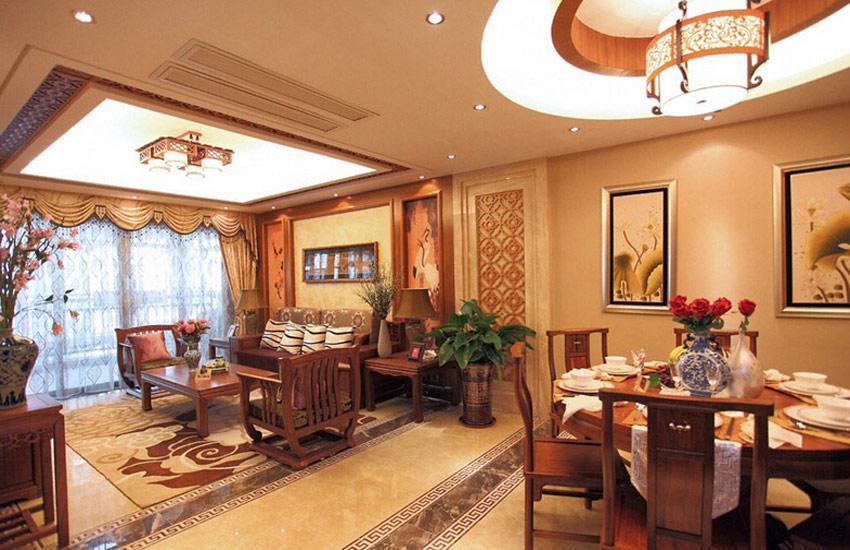 体会住宅中式设计装修中体现出的中国传统美