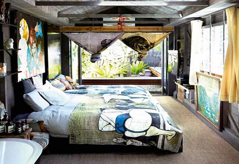 告别传统别墅卧室新中式装修设计也能任性