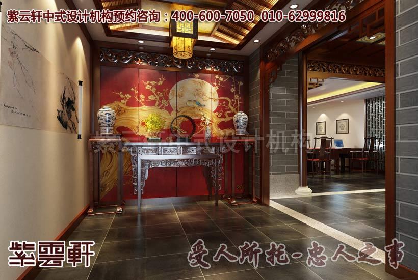 杭州国学会馆古典装修 弘扬国文细致精髓