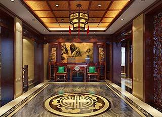 慈溪王先生别墅中式装修效果图案例赏析图片