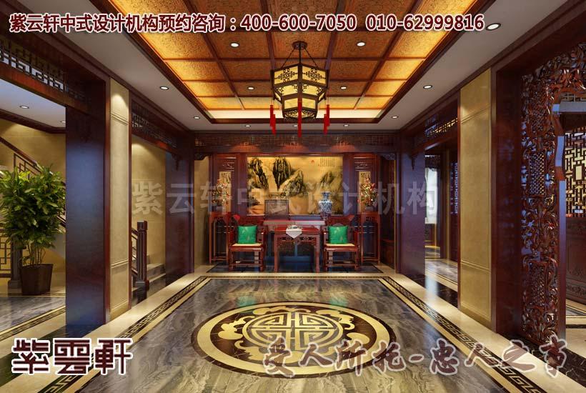 中堂中式装修效果图图片