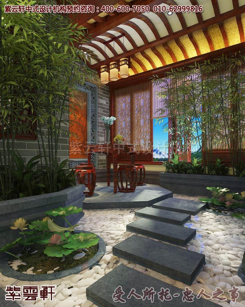 花园中式装修效果图