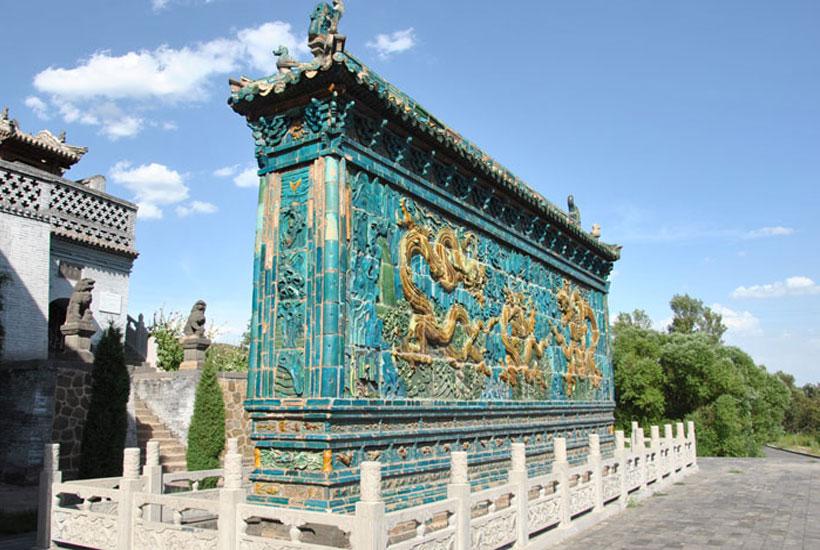 山西古建筑精華工程—文化遺產龍壁之城
