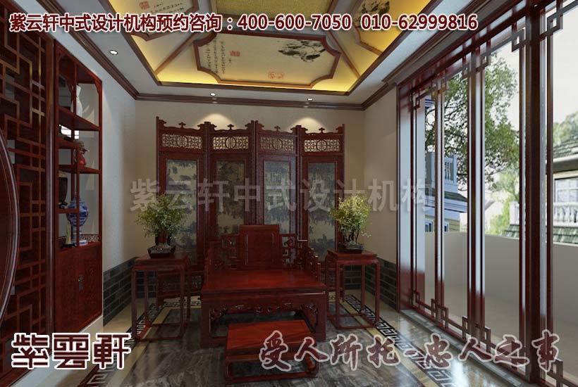 中式风格私人会所装修案例