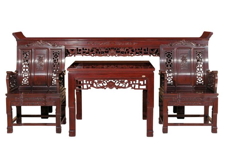红木资讯—详解红木家具的三分品相