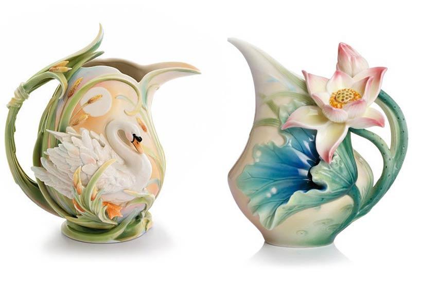 中式配饰—绝美法蓝瓷的自然在触手可及之处