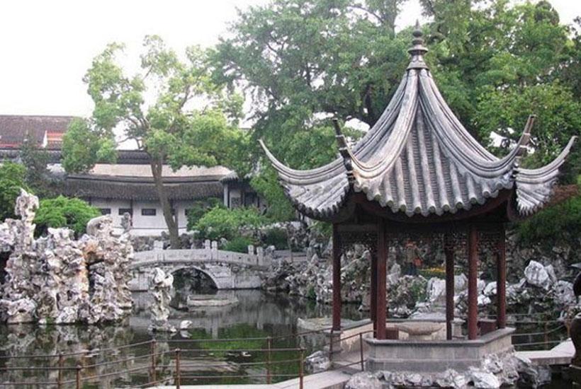 古建景观 中式园林景观设计之假山的峥嵘万象