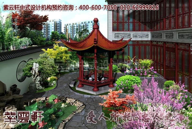 古典中式风格庭院设计装修案例图