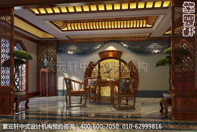以新中式设计理念演绎徽派建筑的天人合一