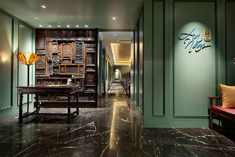 简约中式设计看似简单其实能完美塑造酒店形象
