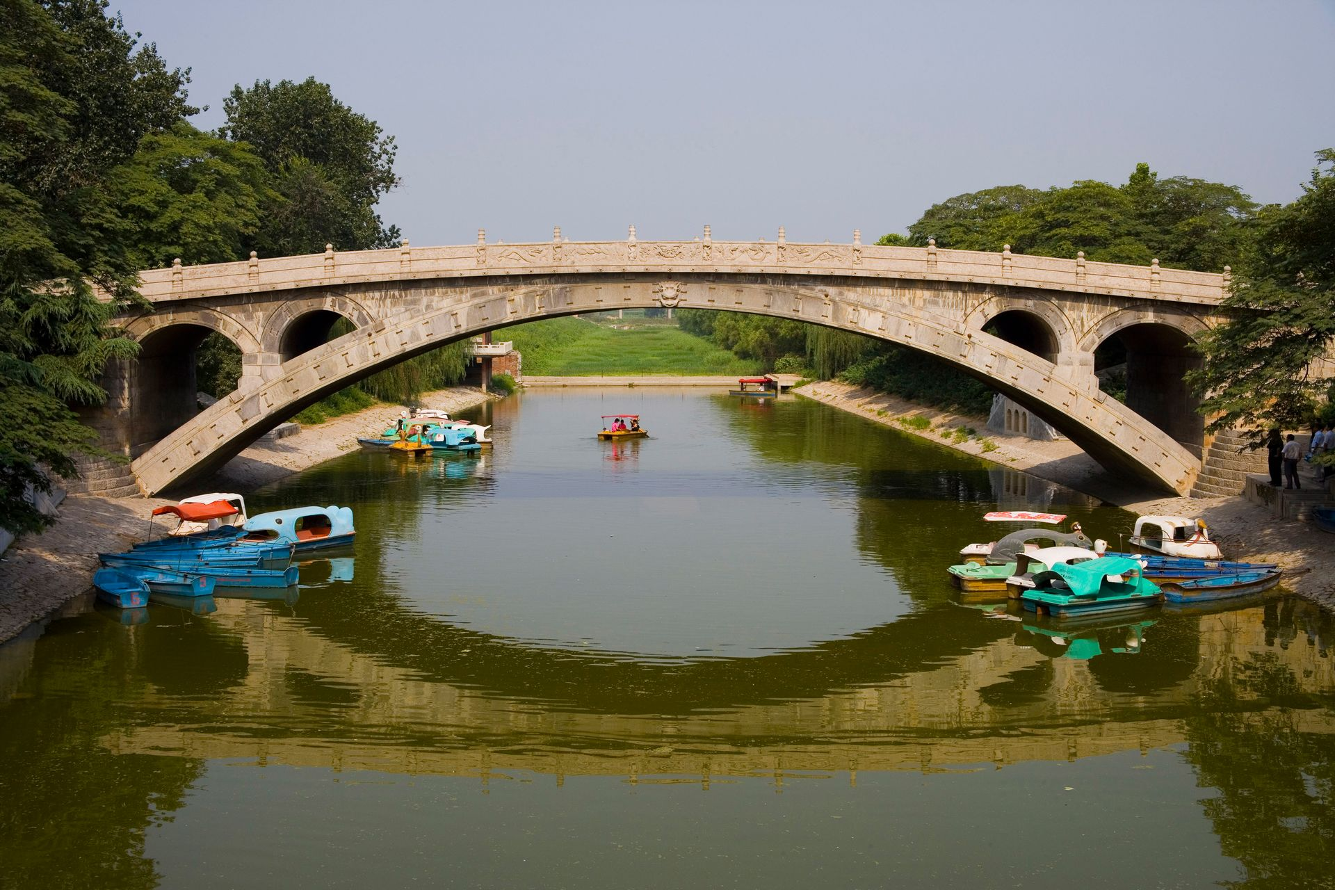 显示了我国古代人民劳动非凡智慧的四大古桥