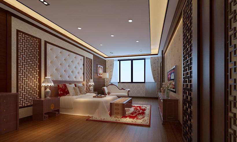 如何完美协调中式装修别墅室内空间的色彩