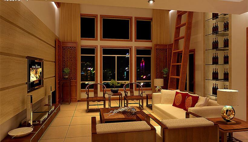简约中式装修室内设计简约古朴意境的打造